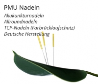 Permanent Make up Nadeln | Hygiene Module | Akupunkturnadeln
