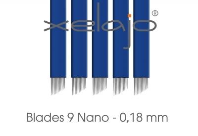 Microblading Blades Super Nano 9er 0,18 mm