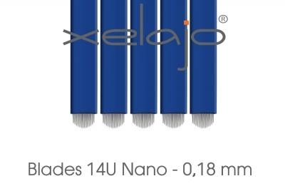 Microblading Blades Super Nano 14U 0,18 mm