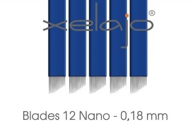 Microblading Blades Super Nano 12er 0,18 mm