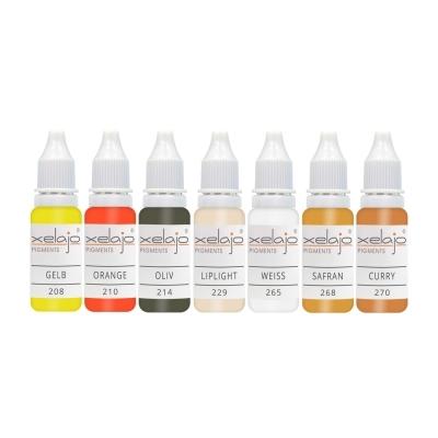 Microblading Farben Korrekturfarben | Permanent Make up Farben Korrektur