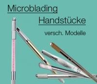 Verschiedene Modelle an Microblading Handstücke