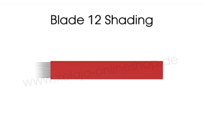 Microblading Blades 12er Shading Flat Blades
