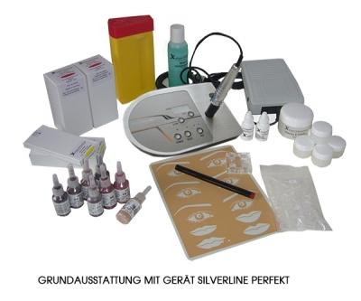 Permanent Make up Erstausstattung mit Gerät Silverline Perfekt