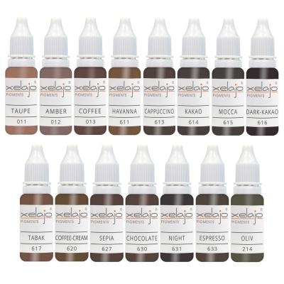 Microblading Farben Set Augenbrauen günstig kaufen | Permanent Make up Farben