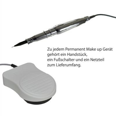 Permanent Make up Geräte - Zubehör - Handstück - Fußschalter