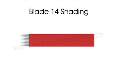 Microblading Blades 14er Shading | Flat Blades