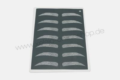 Microblading Übungshaut | Übungsleder schwarz