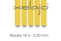 Microblading Blades 18U 0,20 mm  gelb