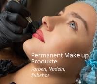 Permanent Make up Produkte, Pigmentierfaren, Nadeln, Zubehör