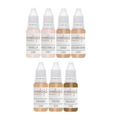 Microblading Farben - Hautfarben | Permanent Make up Hautfarben