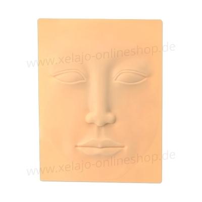 Microblading Übungshaut Gesicht | 3D Übungsleder