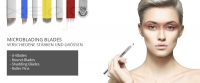 Microblading Blades / Microblading Nadeln -  Nano Blades - Shading Blades - Round Blades