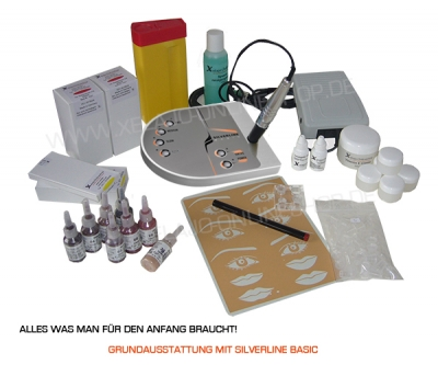 Permanent Make up Grundausstattung Basic