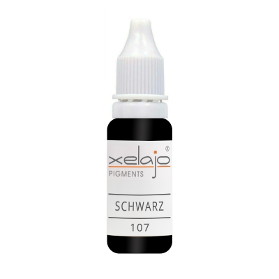 Microblading Farbe Schwarz Nr. 107 | Permanent Make up Farbe