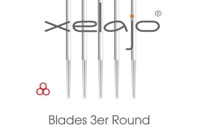 Microblading Blades 3er Rund / Shading Blades Rund