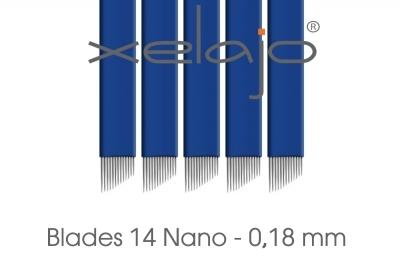 Microblading Blades Super Nano 14er 0,18 mm