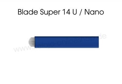 Microblading Blades Nano 14er U-Shape Super