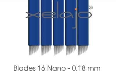 Microblading Blades Super Nano 16er 0,18 mm